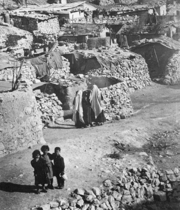 Mieh Mieh Camp, near Sidon, Lebanon, 1952